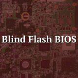 Blind flash - BIOS Motherboard
