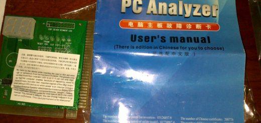 PC Analyzer Card - User Manual
