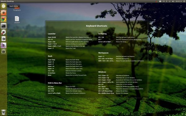Shortcut Penting Ubuntu 12.10
