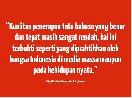 kualitas bahasa Indonesia - Begobet