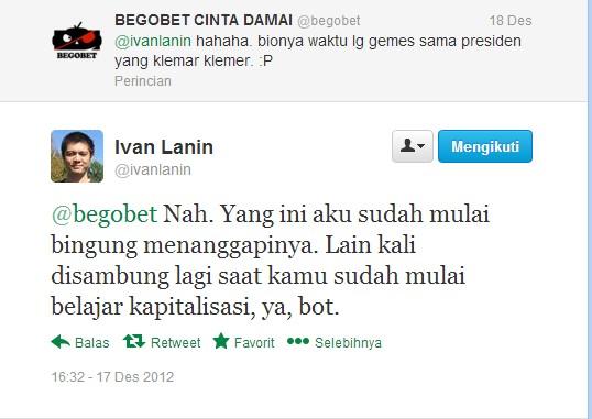 Ivan Lanin - Begobet