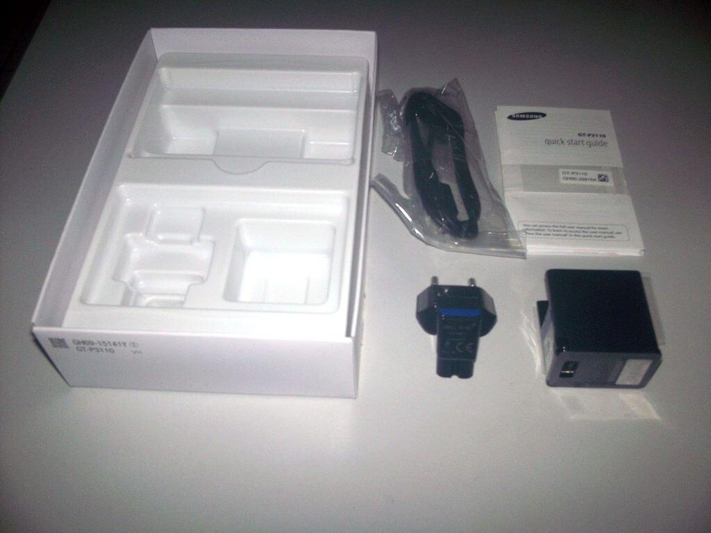 "Boks kemasan dan kelengkapan Samsung Galaxy Tab 2 7.0"" Wifi Only"