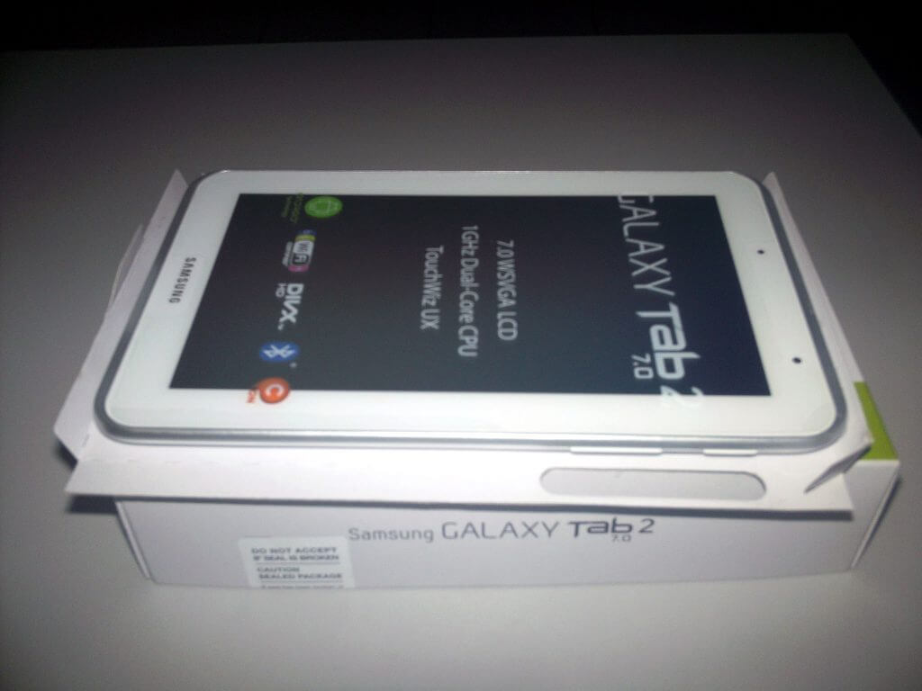 Samsung Galaxy Tab 2 7.0 Wifi Only (GT-P3110) White