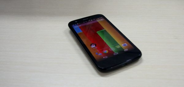 Motorola Moto-G dan Tampilan Layar Bawaan