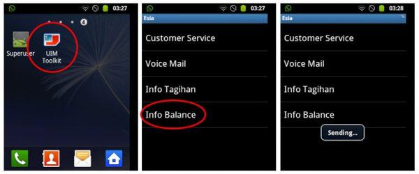 Smartphone android tidak bisa menerima SMS