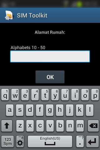 """Registrasi SIM prabayar Telkomsel - Form """"Alamat Rumah""""."""