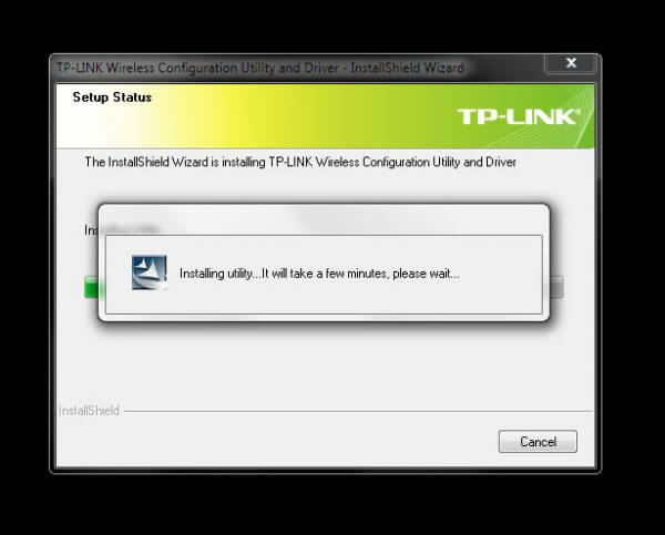 Install TP-Link Wireless Configuration Utility and Driver TL-WN-823N V1 - Installing Utility