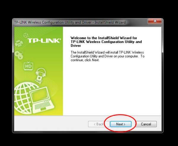 TP-Link TL-WN823N V1 - Utility Driver Installer