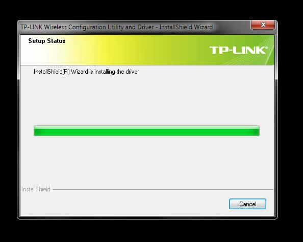 """TP-Link TL-WN823N V1 - Utility Driver Installer """"Installing"""""""