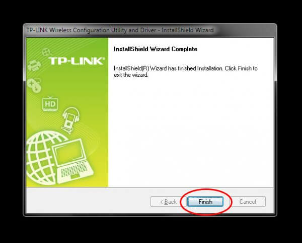 """TP-Link TL-WN823N V1 - Utility Driver Installer """"Installed"""""""