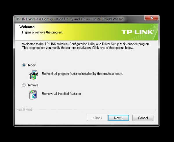 Instalasi TP-Link Wireless Configuration Utility and Driver untuk TL